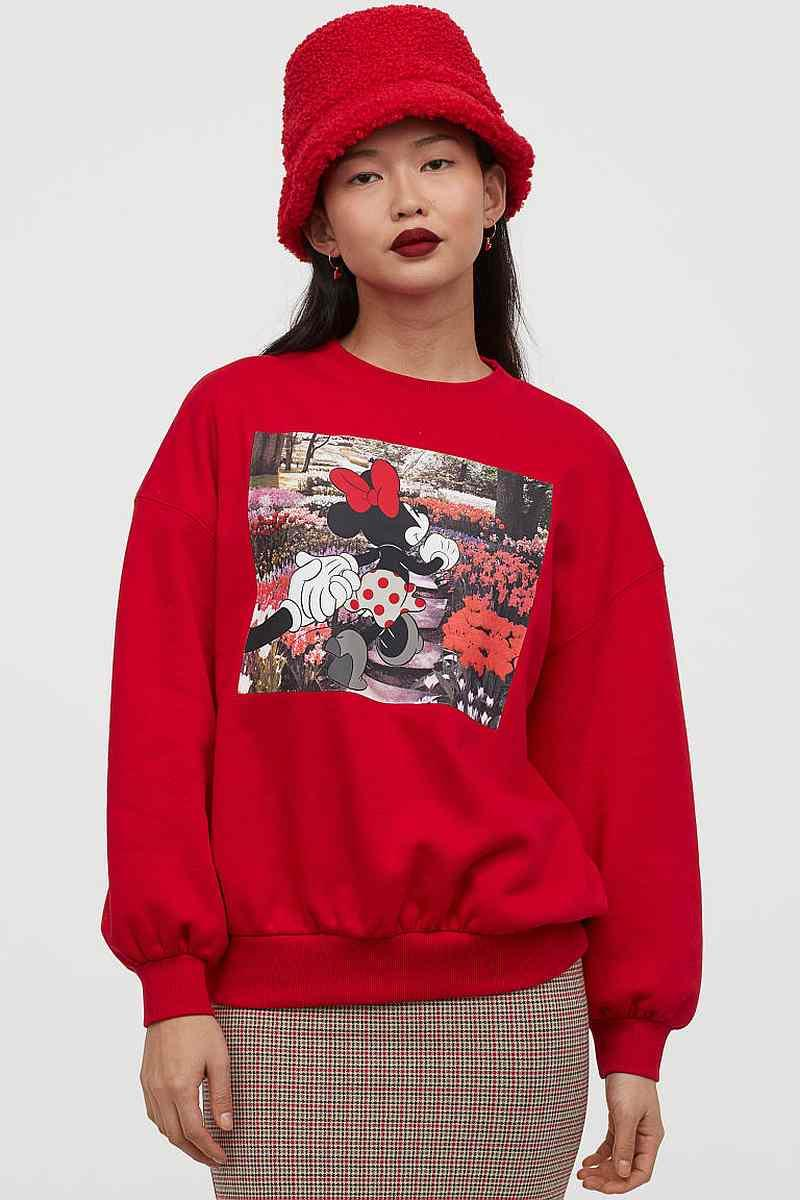 H&M Minnie Mouse sweater, price unavailable. — Picture from H&M