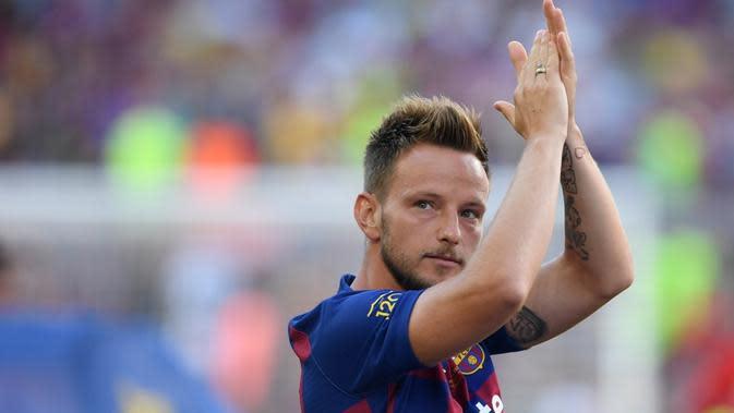 Gelandang Barcelona, Ivan Rakitic.(AFP/Josep Lago)