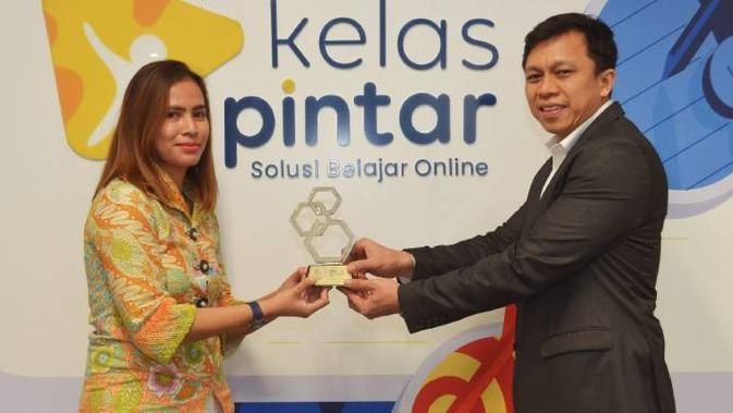 Kelas Pintar Raih Penghargaan Best Education Platform