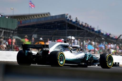 Lewis Hamilton was fastest Saturday at Silverstone in qualifying for the British Grand Prix
