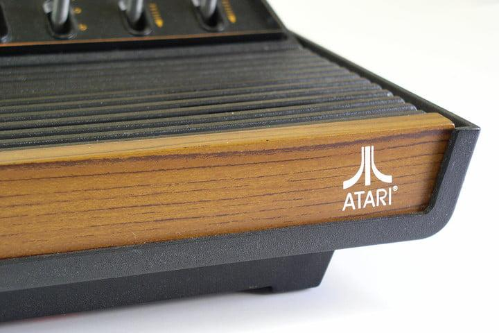 Atari 2600 close up