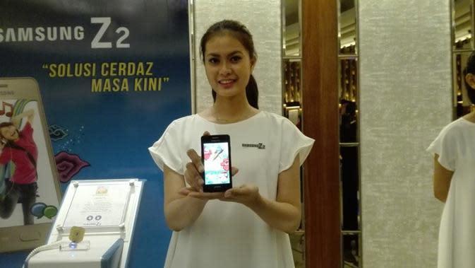 Peluncuran Samsung Z2 di Jakarta, Rabu (19/10/2016). Liputan6.com/Mochamad Wahyu Hidayat