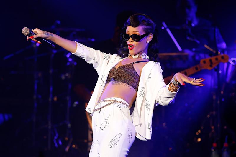 Pop sensation Rihanna also made this year's list (Getty Images)