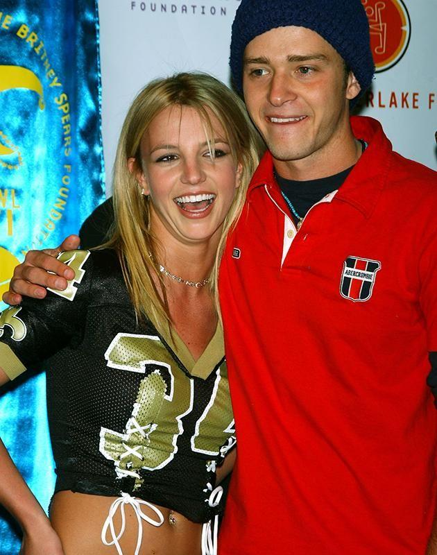 Justin Timberlake and Britney Spears when younger. Source: Getty