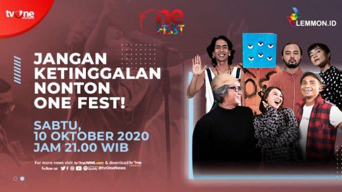 Sabtu Ini, One Fest Sajikan Musik Santai Fourtwnty feat Elda Suryani