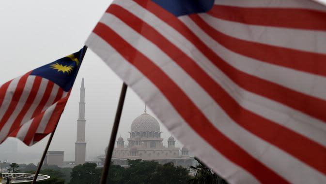 Bendera Malaysia (AFP PHOTO)