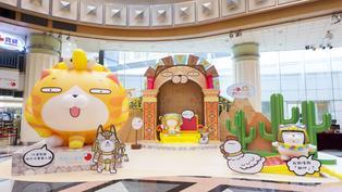 白爛貓殺入四大商場 互動打卡旅遊景點+精品換領