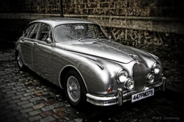 A Jaguar Mark 2 gleams in Paris: Flickr photo of the day