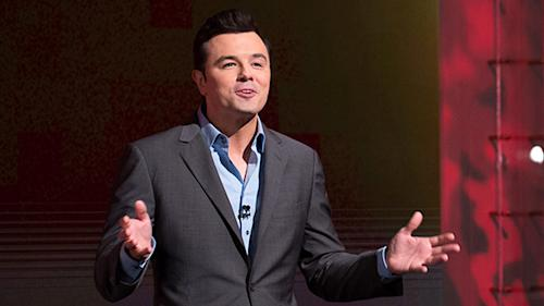 Crass meets class: Seth McFarlane to sing big finale at Academy Awards