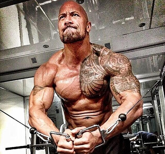 Dwayne Johnson Works Out Like a Demi-God For 'Hercules' Role