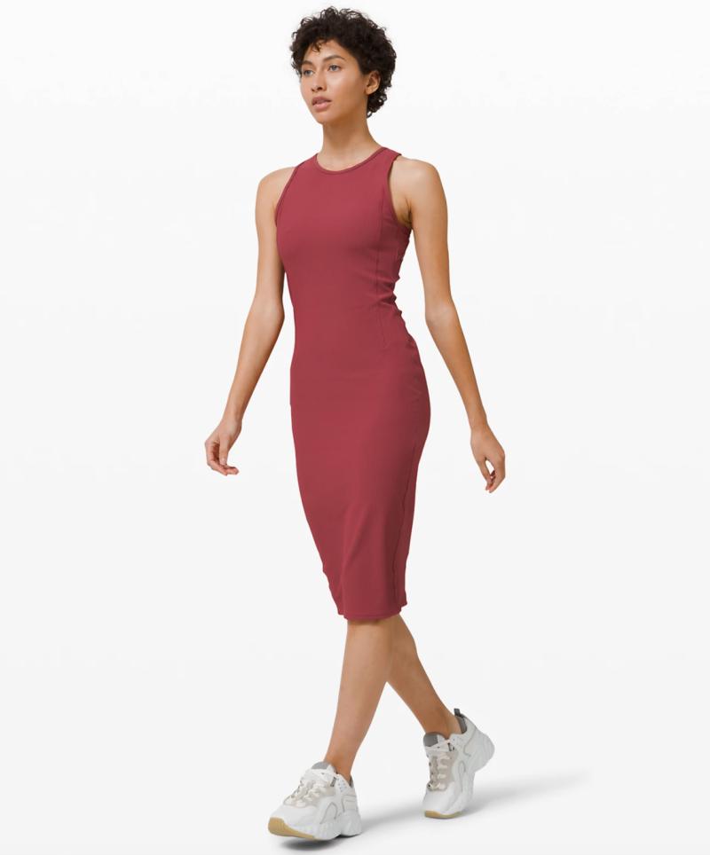 Brunch and Back Dress. Image via Lululemon.