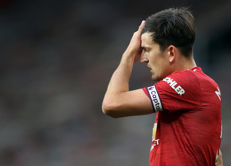 Manchester United defender Harry Maguire is enduring poor form.