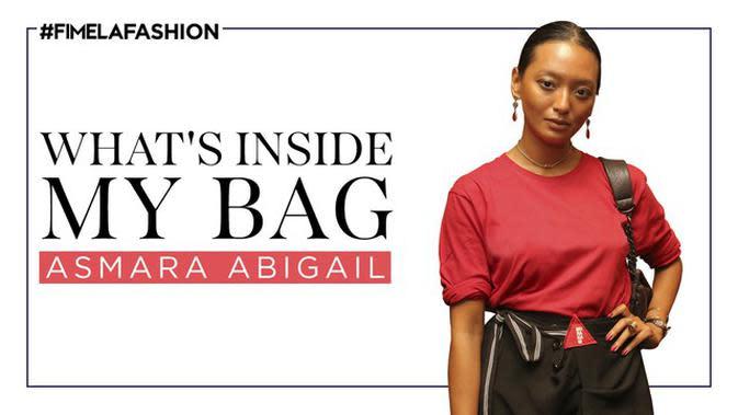 What's In My Bag Asmara Abigail