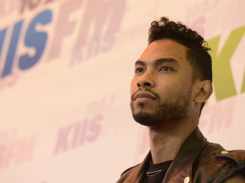 "FILE - In this May 11, 2013 file photo, singer Miguel arrives at Wango Tango 2013 at The Home Depot Center in Carson, Calif. Miguel was arrested by the by California Highway Patrol on suspicion of misdemeanor drunk driving early Thursday morning, Aug. 15, 2013. A spokeswoman for the department said the 27-year-old ""Adorn"" crooner was pulled over in his BMW X6 for speeding and driving with tinted windows just after 2 a.m. (Photo by Dan Steinberg/Invision/AP, File)"