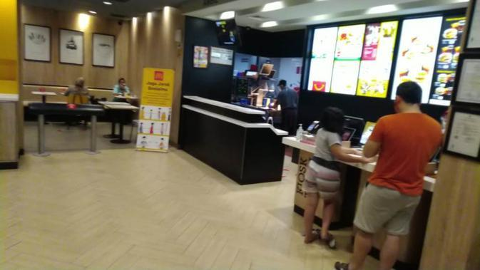 Restoran McDonald's di Jakarta. (Liputan6.com/Henry)