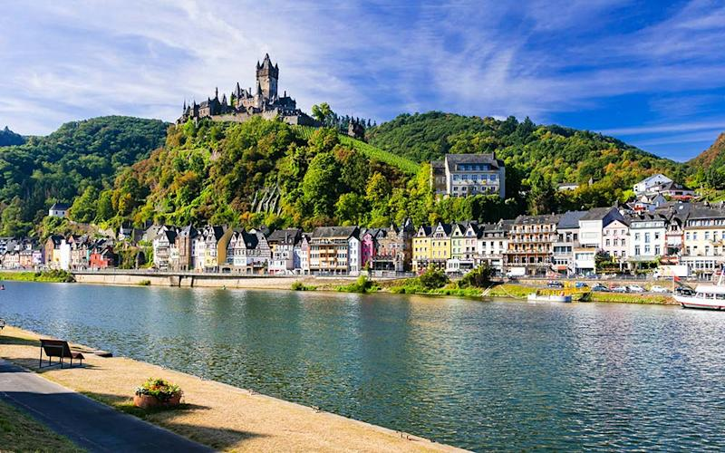 Scenic's Rhine cruise takes passengers through what is describes as Europe's most romantic region