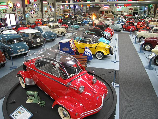 The Bruce Weiner Microcar Museum