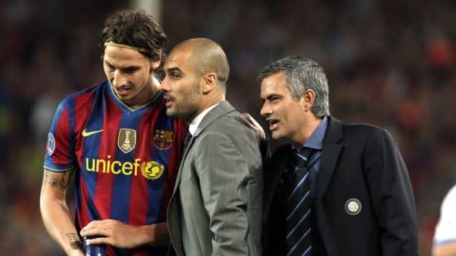 Misteri Bisikan Nakal Mourinho ke Guardiola di Liga Champions Terkuak