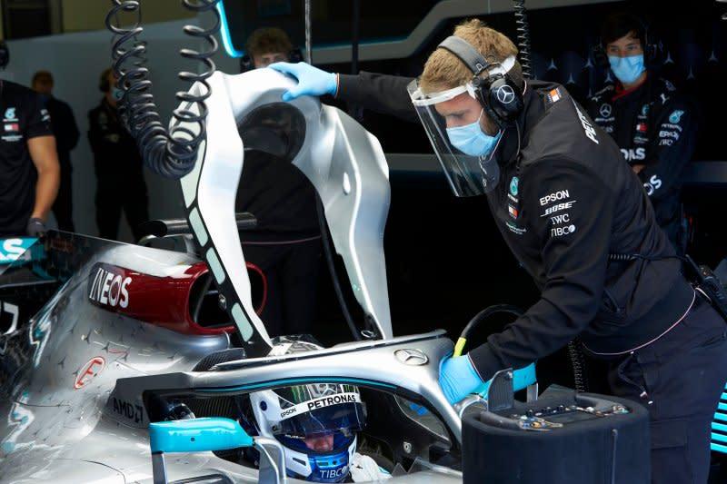 Mercedes berlatih di Silverstone persiapkan ketatnya jadwal F1 2020