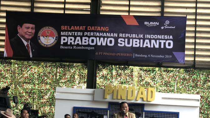 Kunjungi PT Pindad, Prabowo Jajal Rantis Komodo