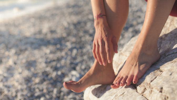 ilustrasi perawatan kulit kaki ala rumahan/unsplash