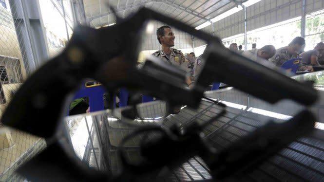 Pistol Milik Kasat Reskrim Polres Keerom Hilang Dicuri