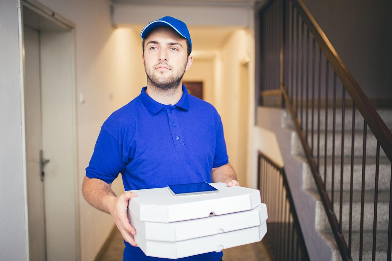 """<p>It used to be that you'd have to work for a local restaurant on set hours in order to deliver food. With food delivery apps you can pick up food at all the best spots (fair warning: your car may smell like fried chicken for days) and take the meals to their destination. With <a href=""""https://www.doordash.com/dasher/signup/"""">DoorDash</a>, <a href=""""https://www.uber.com/a/signup/drive/deliver"""">Uber Eats</a> and <a href=""""https://driver.grubhub.com/"""">GrubHub</a>, you can pop on when you've got a couple hours to spare (though you'll make more if you target dinner or lunch times) and use their apps to pick up and deliver food all over.</p>"""