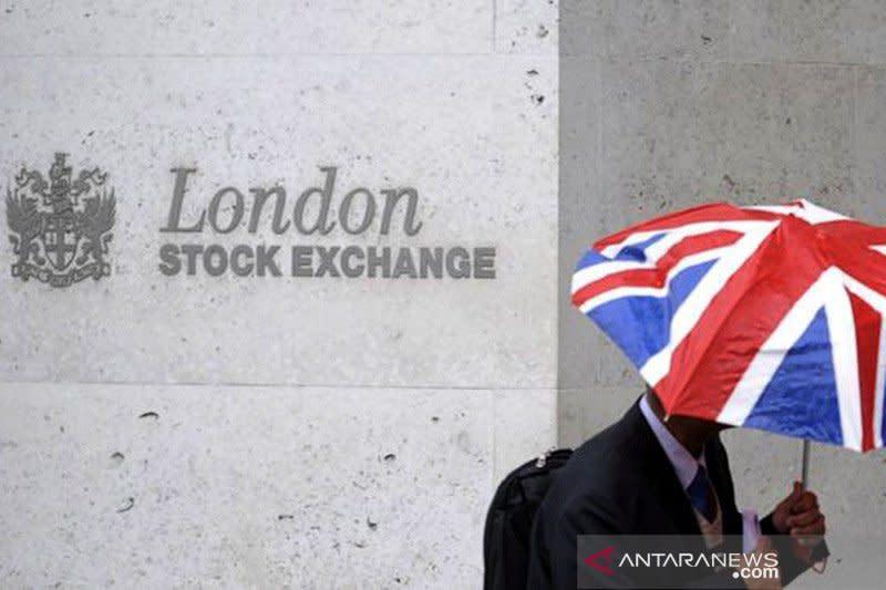 Bursa saham Inggris berakhir menguat untuk hari ketiga berturut-turut