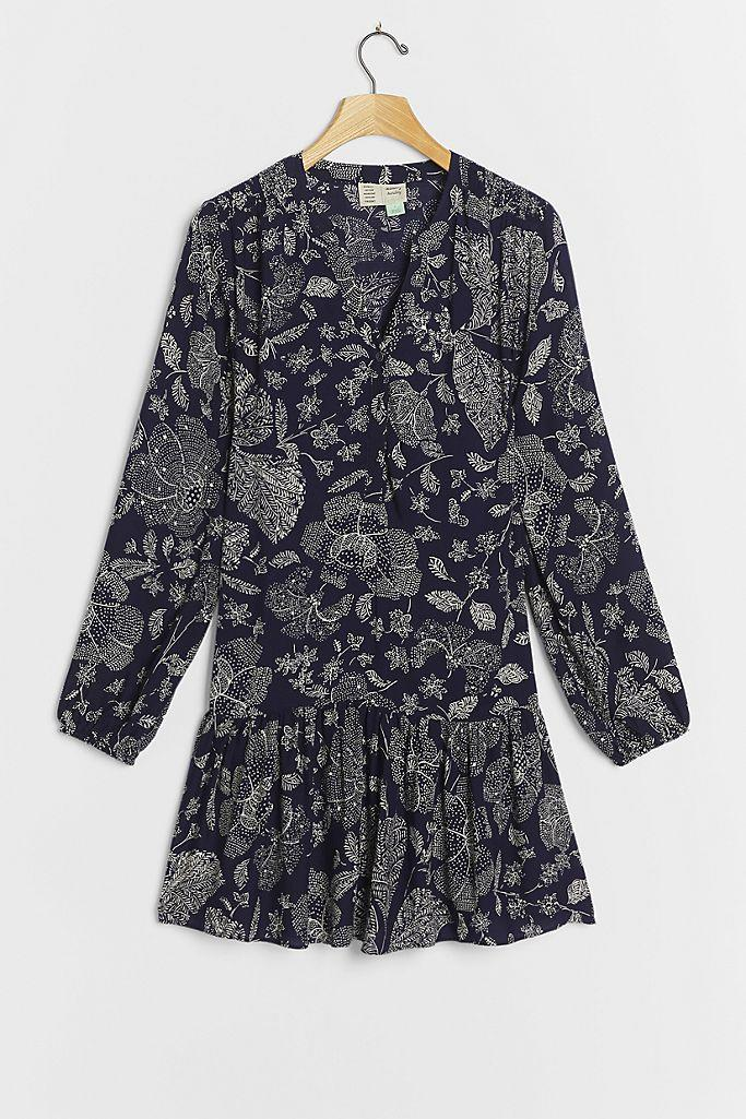 Elyn Tunic Dress. Image via Anthropologie.