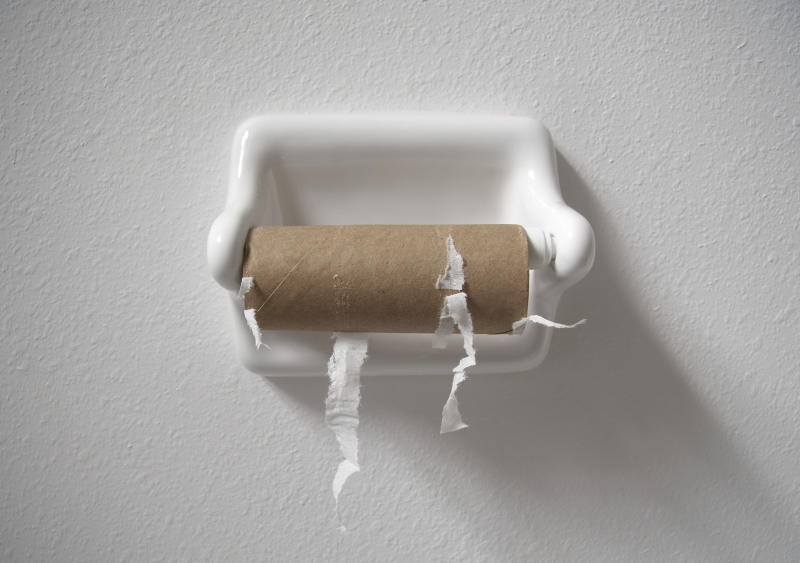 No luck finding toilet paper during the coronavirus pandemic? This is why. (Photo: Getty Images)