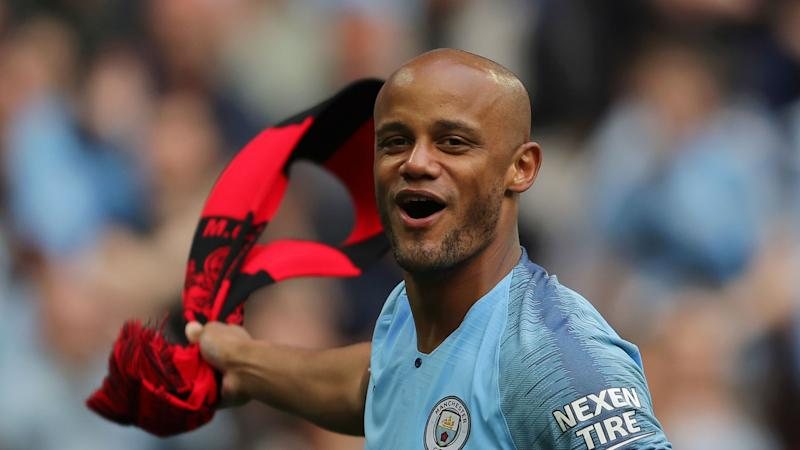 'World class' Kompany is Manchester City's DNA, says Goater