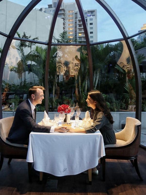 Simak di hotel mana saja kamu bisa merayakan Valentine dengan makan malam (Foto: Instagram/fairmontjakarta)