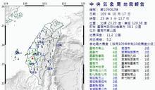 台南1晚3震…在地人:想到白河地震