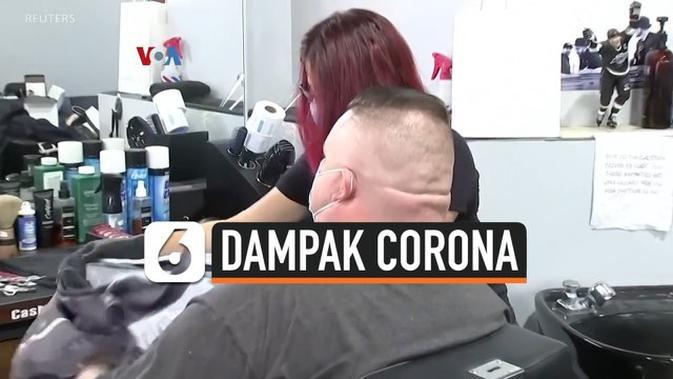 VIDEO: 'Nyalon' di Luar Vs Dalam di Era New Normal
