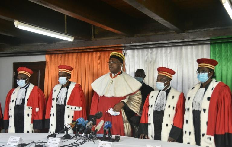 I.Coast court clears president's third-term bid as fresh violence erupts