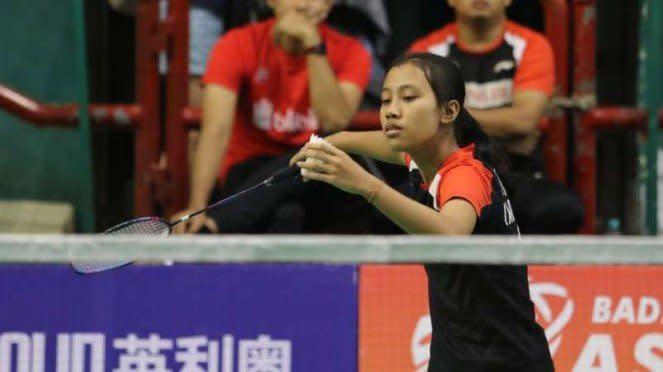Atlet muda PB Djarum, Mutia Ayu Puspitasari.