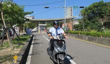 聯合大學李偉賢校長擔任機車特派員 宣導交通安全