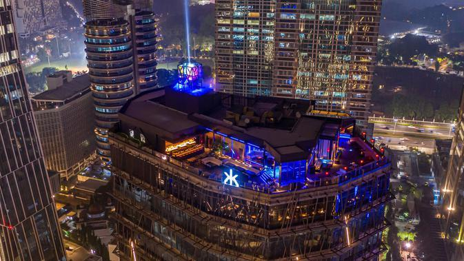 Merayakan malam tahun baru. (Foto: Dok. Hakkasan Jakarta)