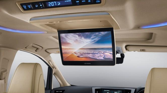 Interior New Toyota Alphard 2020