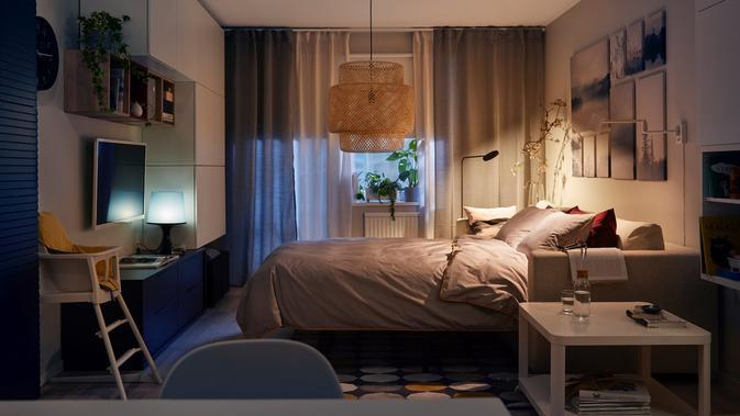 Simak cara menyenangkan adaptasi new normal dengan menata ulang interior rumah (Foto: IKEA)