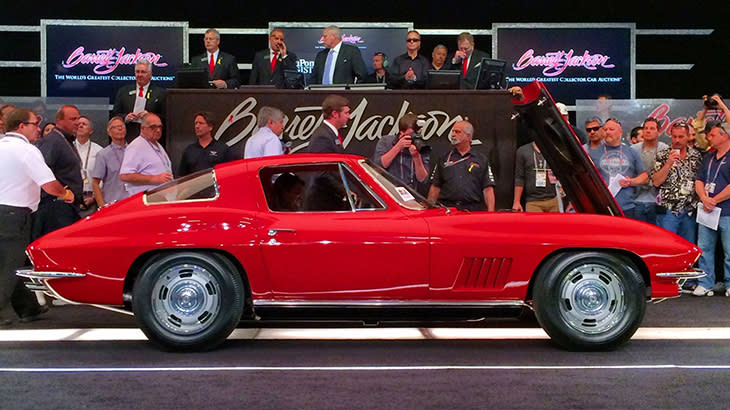 1967 Corvette sells for record $3.85 million at Barrett-Jackson in $248.6 million frenzy