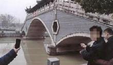 開玩笑鬧出人命!男友假裝跳河尋短 她急跳下遭沖走溺斃