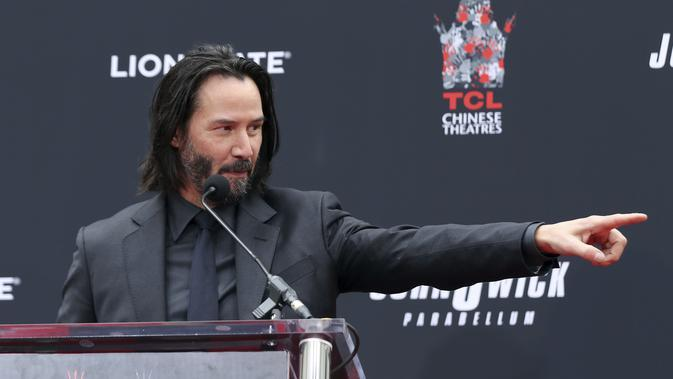 Keanu Reeves (Photo by Willy Sanjuan/Invision/AP)