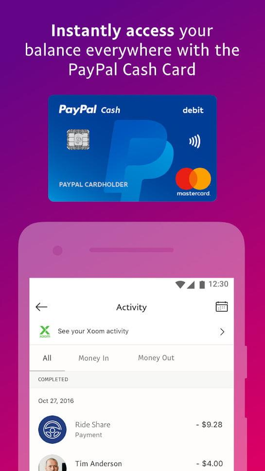 paypal vs google wallet venmo square cash screenshot 3