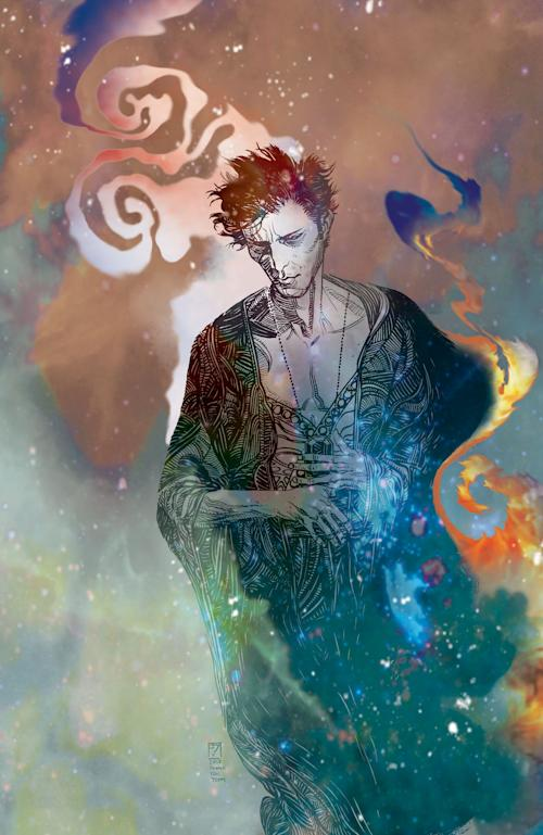 """This comic book image released by DC Entertainment shows the character The Sandman. The character is returning for a new series """"The Sandman: Overture,"""" appear bi-monthly starting Oct. 30 in comic shops and digitally. (AP Photo/DC Entertainment)"""