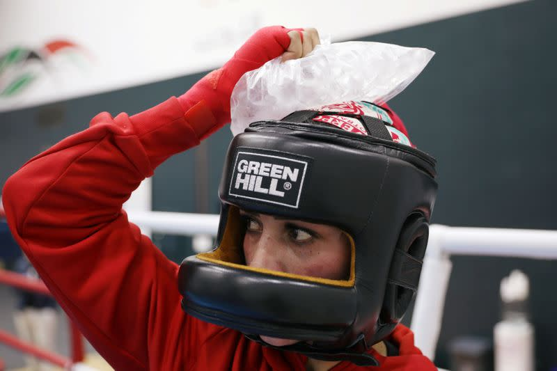 Boxing: Jordan's Al Shammary dreams of boxing her way to Olympic glory