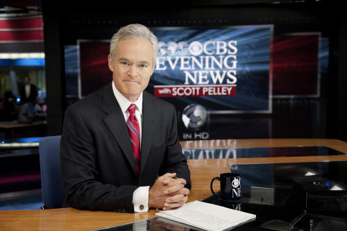 "In this photo released by CBS, ""CBS Evening News"" anchor Scott Pelley, is shown. Pelley says a recent rash of mistakes shows journalism's house is on fire. The ""CBS Evening News"" anchor says in a world in which everyone is a publisher no one is an editor. He delivered a scolding to his industry Friday while receiving a journalism award. Pelley talked about how several news organizations prematurely reported an arrest in the Boston Marathon bombing case. Media critic Howard Kurtz has confessed on his CNN show about messing up a story about gay NBA player Jason Collins. (AP Photo/CBS, John Filo) MANDATORY CREDIT; NO ARCHIVE; NO SALES; FOR NORTH AMERICAN USE ONLY."