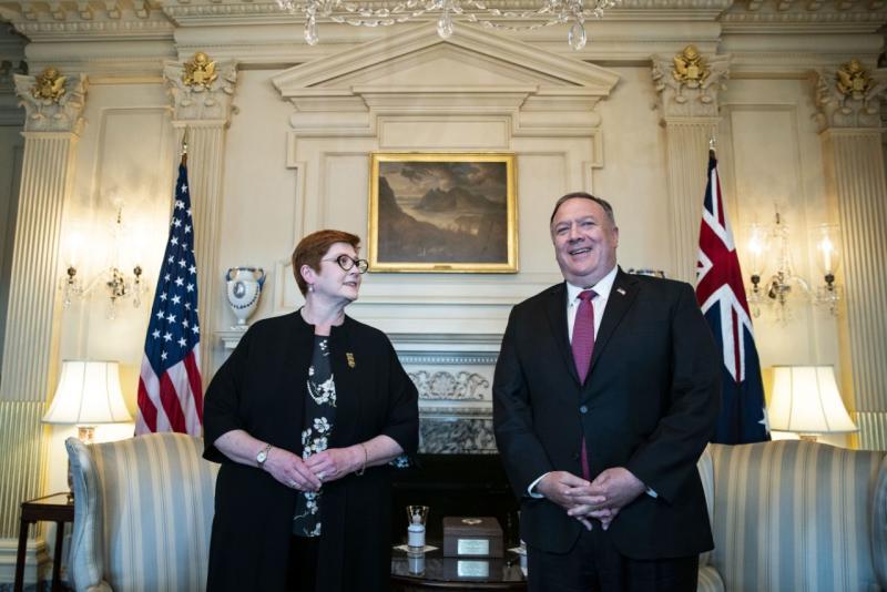 AS, Australia bersekutu untuk mengkritik China di Asia-Pasifik