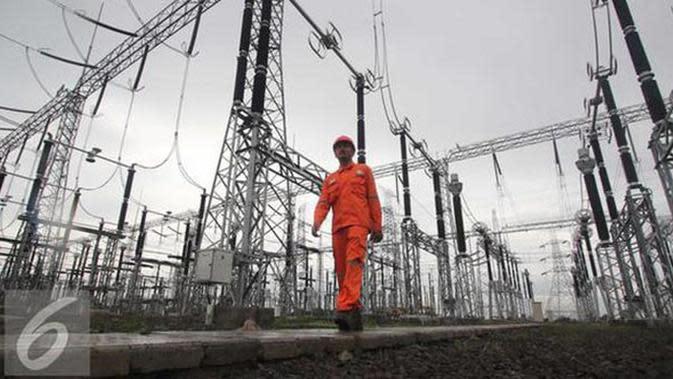 Progress sebaran pembangkit listrik dan jaringan tranmisi yang telah dibangun PT. PLN demi program 35.000 MW untuk Indonesia.