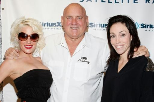 Dennis Hof (c), a candidate for the Nevada state legislature, was found dead at his Love Ranch brothel
